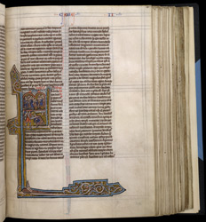Historiated Initial to II Maccabees, In 'The Bible Of Robert De Bello'